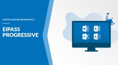 Corso online + Certificazione Informatica Eipass PROGRESSIVE