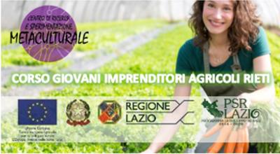 Corso di Formazione Professionale per IMPRENDITORE AGRICOLO PROFESSIONALE